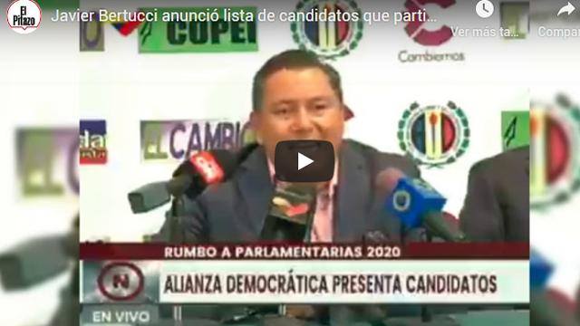 """Javier Bertucci: """"Es mejor pelear con votos y no con abstención"""""""