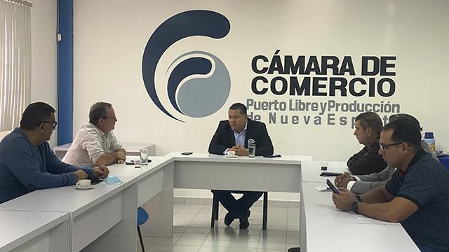 Diputado Bertucci se reunió con representantes de Fedecamaras en Nueva Esparta