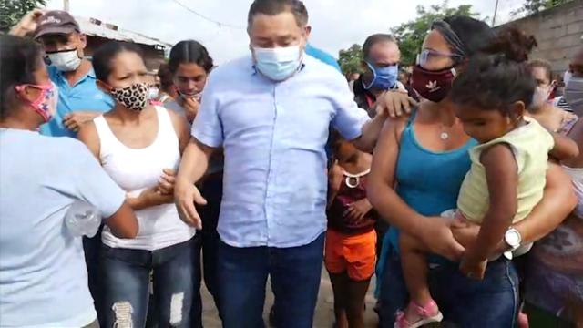 Bertucci en Santa Inés: Los carabobeños merecen un gobierno capaz
