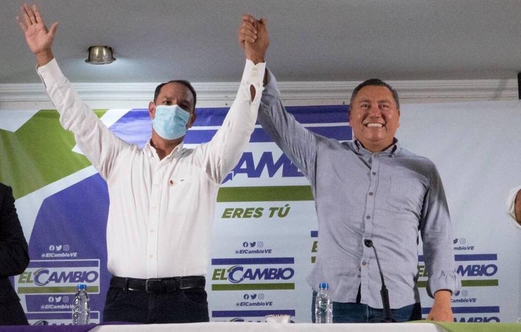 Javier Bertucci presentó a Daniel Barrios como pre-candidato a la Gobernación de Falcón
